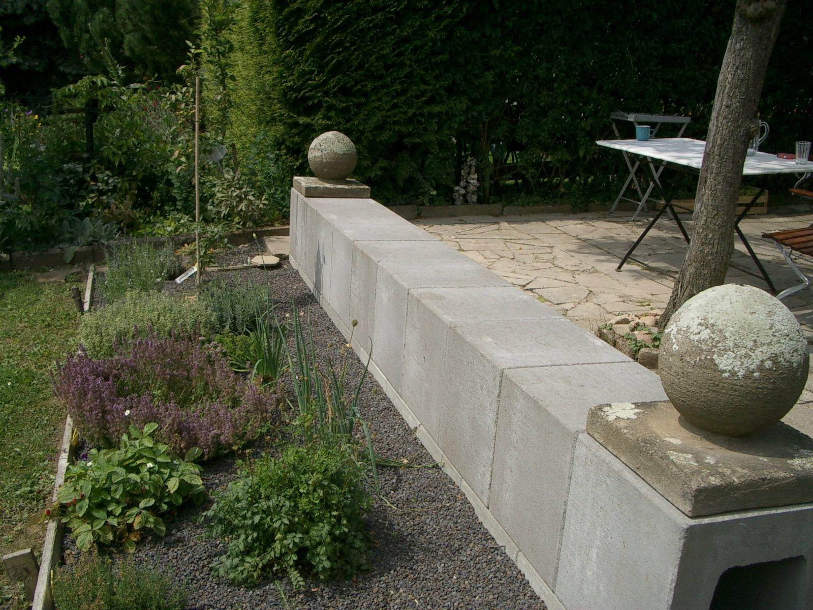 u betonsteine gartengestaltung - fototapete 2017, Garten und bauen